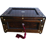 English Sewing Work Box, George III  1760-1820