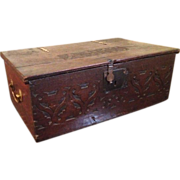 18c Bible Box / Brass Handles