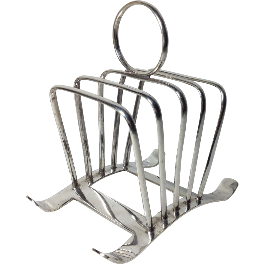 Vintage English Silver Plate Toast Rack