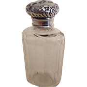 Ladies 1901 English Hallmarked Dressing Table Vanity Bottle
