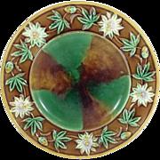 Majolica Plate, C.1880