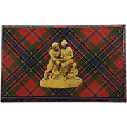 Victorian 'McLean' Tartan Ware Keeping Box