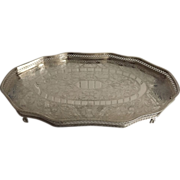 English Silver Plated Tray    C.1950