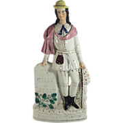English Staffordshire Figurine, Dick Whittington Mayor of London