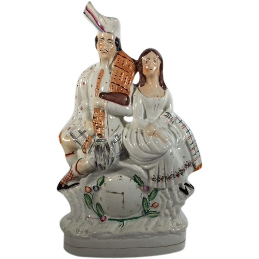 C.1860  English Staffordshire Figurine
