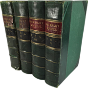The Waverley Novels 4 Volumes Set by Sir Walter Scott, 1867