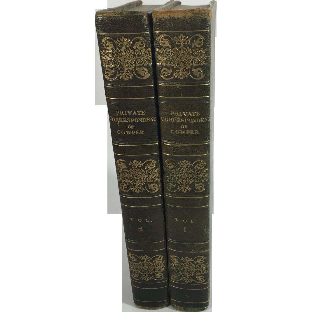 Private Correspondence of William Cowper, 1824