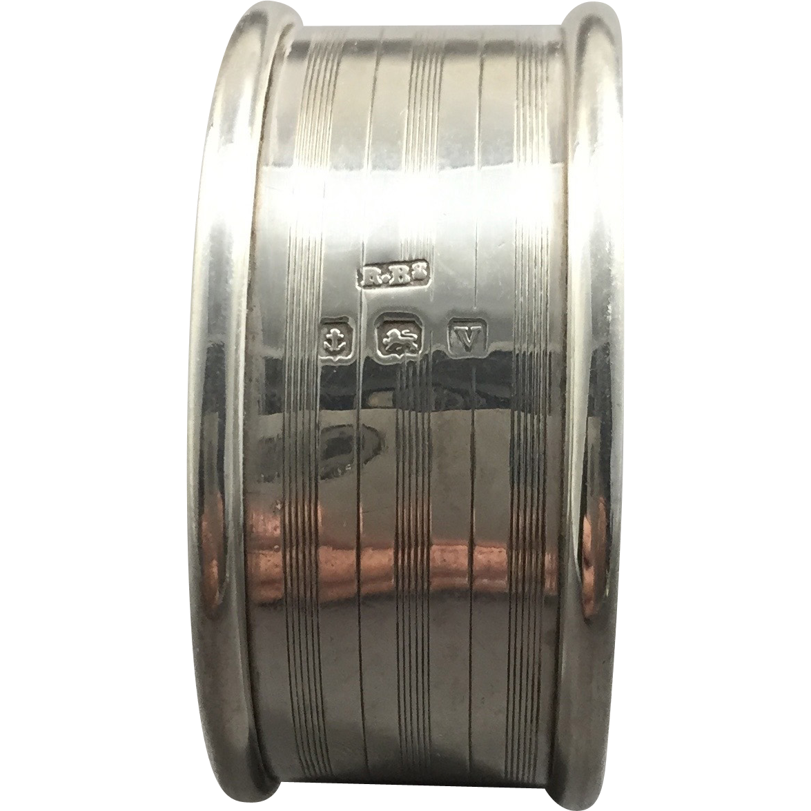 1920 English Sterling Silver Napkin Ring