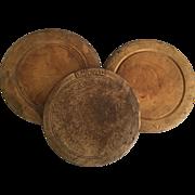 3 English Bread Boards  Vintage