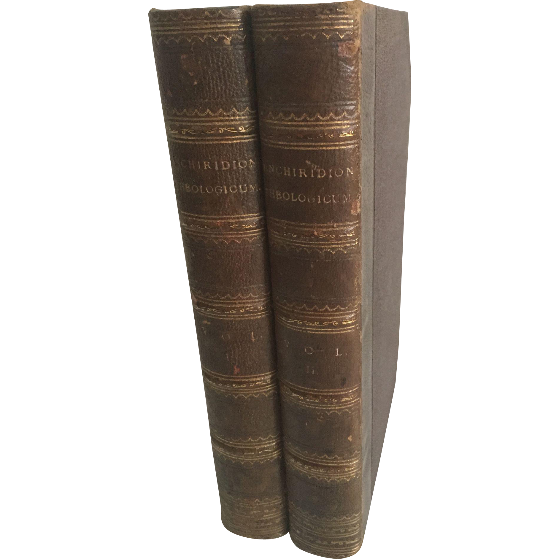 Enchiridion Theologicum, A Manual, for the use of Students in Divinity, by John Randolph, Lord Bishop of London, 1825