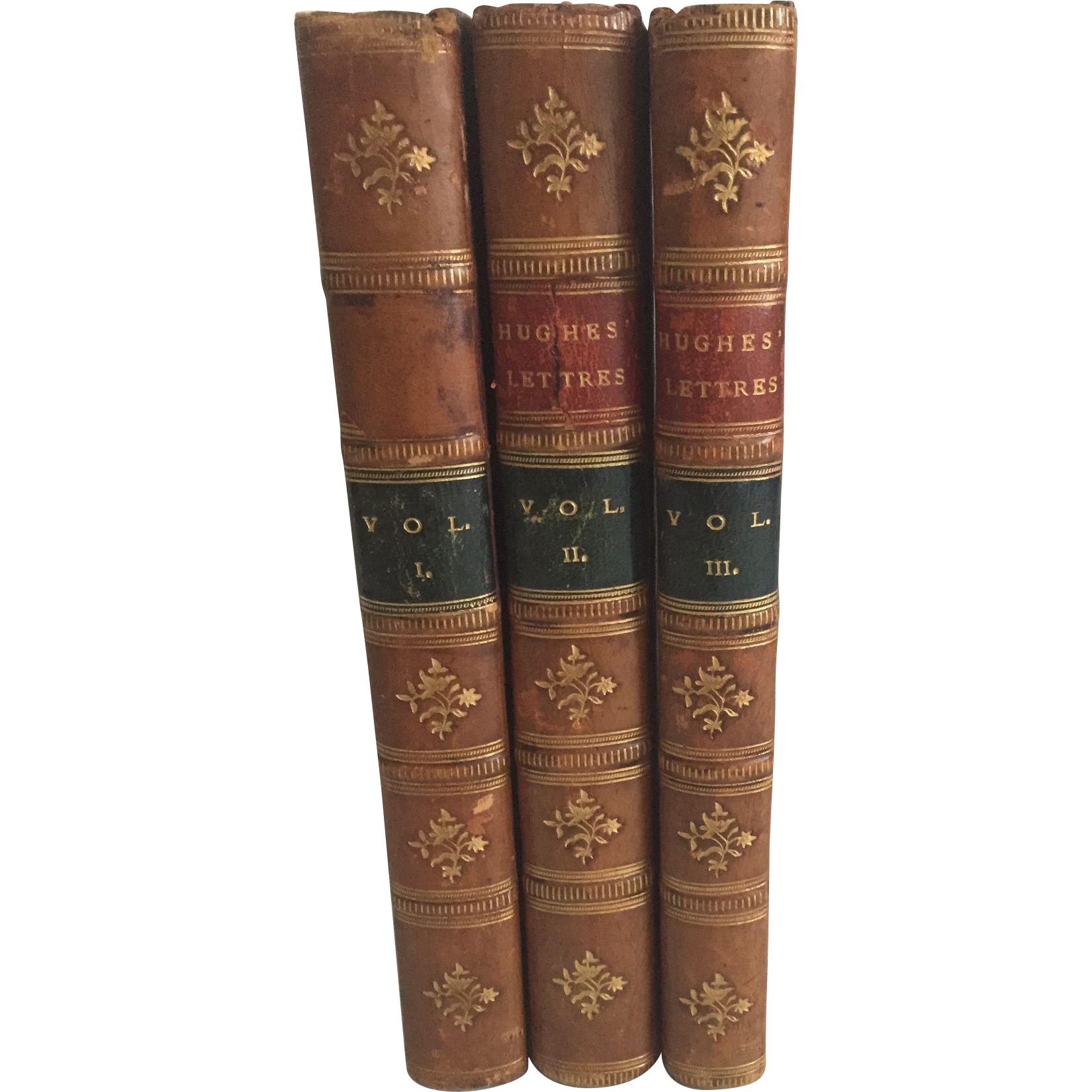 Letters by John Hughes, ESQ by John Duncombe, 3 Volumes, 1773, The Second Edition