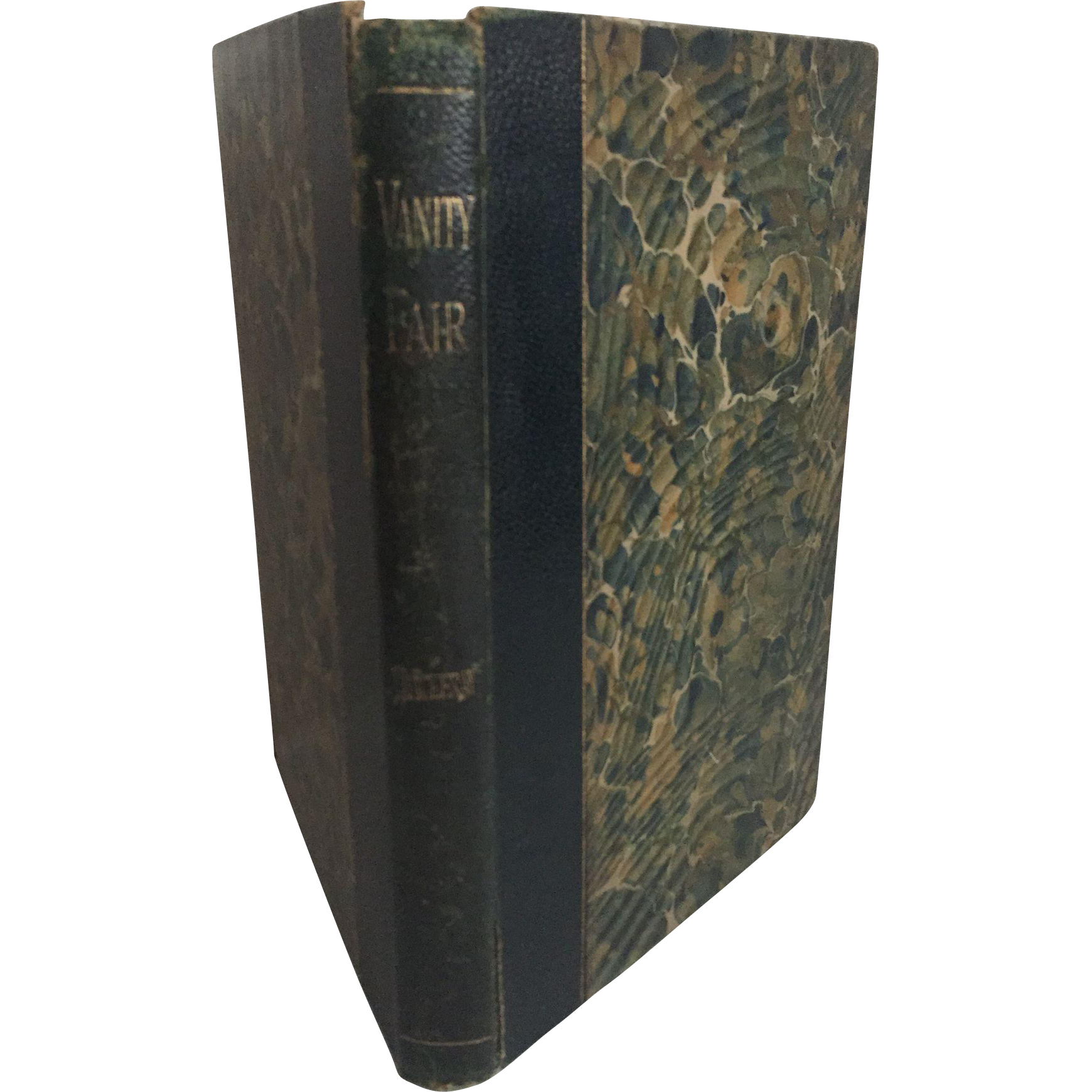 Vanity Fair: A Novel Without a Hero by William Makepeace Thackeray, Illustrated, 1890