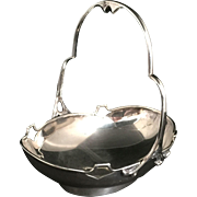 English Sterling Silver Bon-Bon Dish, 1911