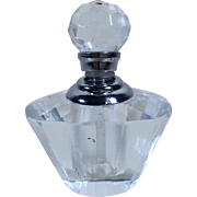 Petite Cut-Crystal Perfume Bottle with Dabber