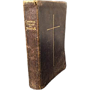Leather Bound Book of Common Prayer C.1902