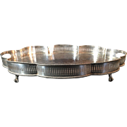 English Gallery Silver Plated Salver