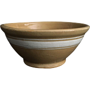 90+ Year-Old Yellow Ware Bowl