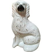 English 'Comfort-Spaniel' Staffordshire Figurine, C.1860-1880