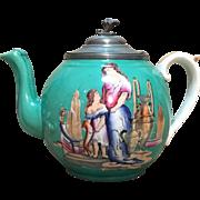 English 19th C. Tea Pot