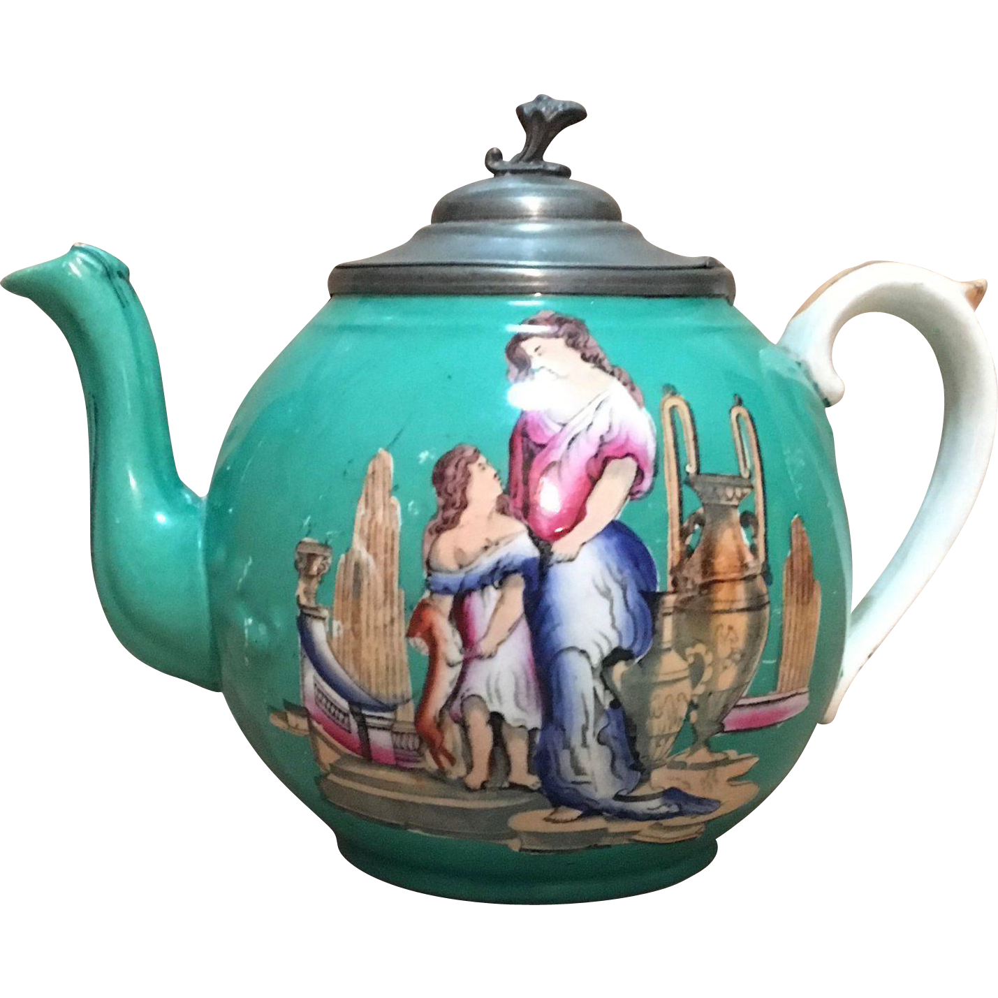 English 19th C. Tea Pot