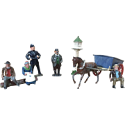 Collection of Assorted English Toy Miniature Figurines