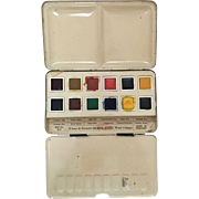Windsor & Newton's SCHOLASTIC Water Colour Box No. B12