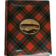 Scottish Tartan Ware Birthday Book, C.1900