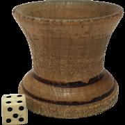 Wooden Dice Shaker