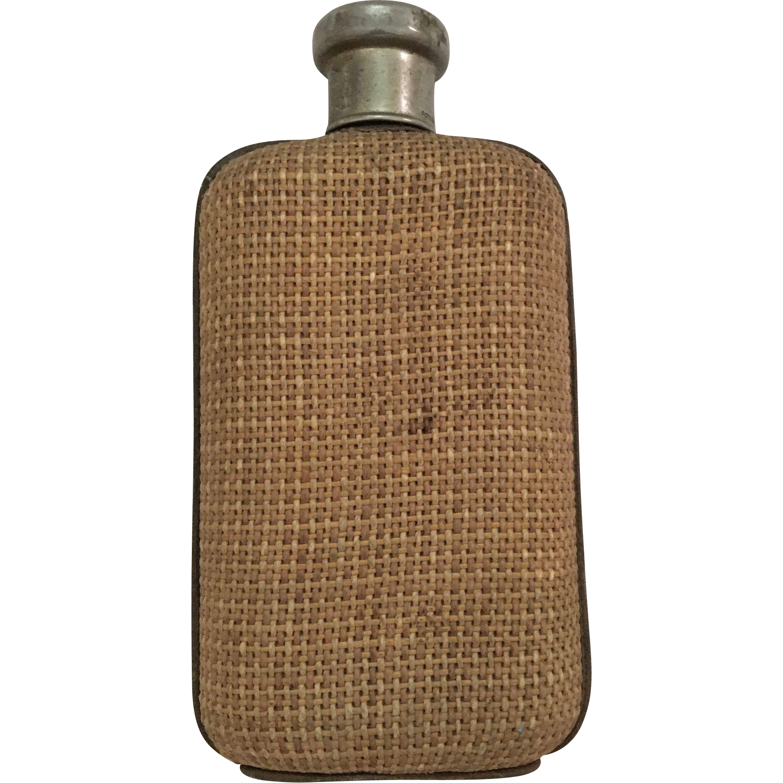 English Wicker Flask