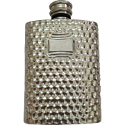 Pewter ware English Flask