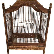 French/English Victorian Bird Cage