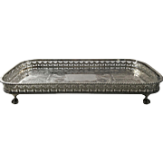 English Gallery Tray by A.Viners Ltd, Sheffield, England
