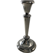 Poole Company Silver Plate Candlestick