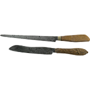 Vintage Kitchen Bread Knives