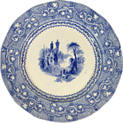 English Blue and White Transfer Ware