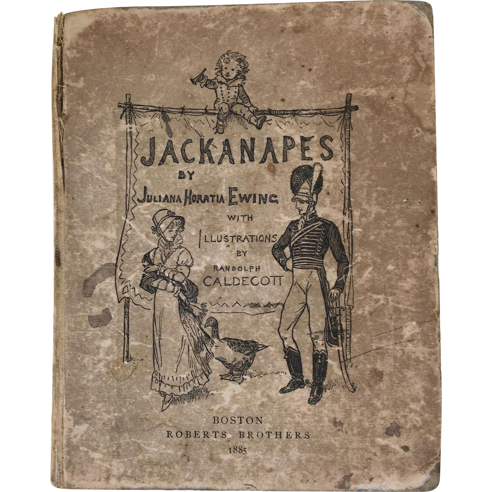 Juliana Horatia Ewing's Jackanapes, Victorian Children's Book, 1885
