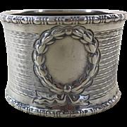 English Sterling Silver Napkin Ring 1911