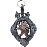 1906 English Sterling Silver Fob