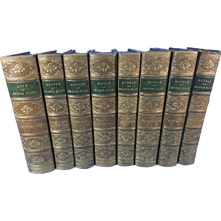 Novels of George Eliot in 8 Volumes, Including the Life of Eliot by J. W. Cross