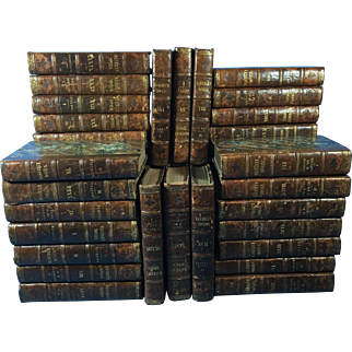 47 Volumes Waverley Novels, 1837
