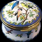 English Enamel Ware Trinket Box