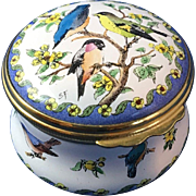English Enamel Ware Trinket Box