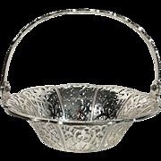Silver Plate Bon Bon Basket