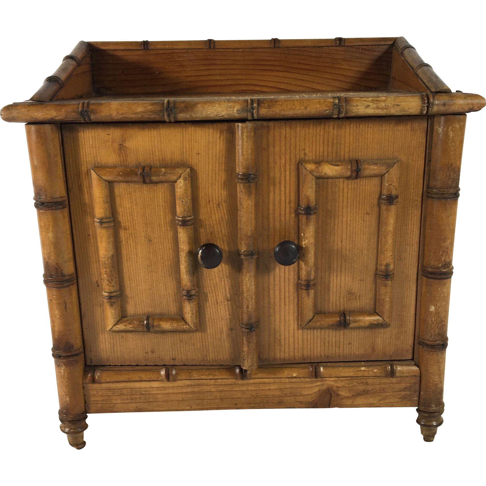 Child's C.1900 English Doll Chest