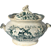 English C. 1835 Toy China Tureen