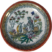 1870-1880  Child's Small Tea Plate
