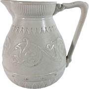 1870 English Salt Glaze Jug