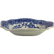 1880 Blue Willow Bon Bon Dish