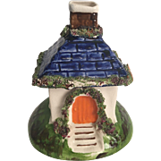 English Staffordshire Figurine Thatched Cottage
