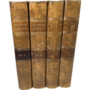 The Commentaries of the Laws of England by Sir W. Blackstone, in Four Volumes, 1826, London